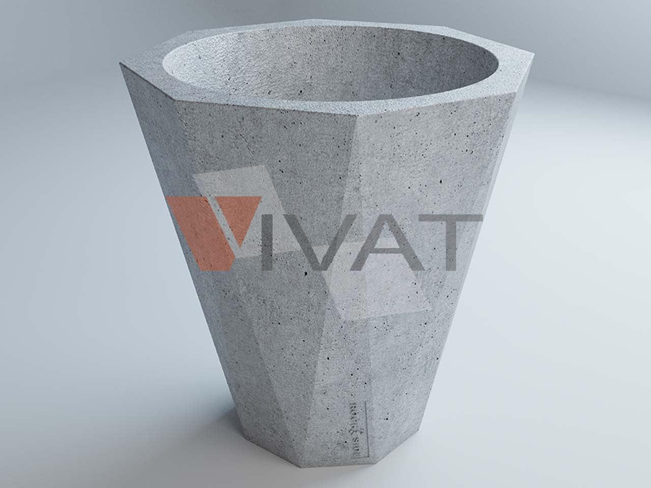 Вазу из бетона купить какие пропорции цементного раствора для стены